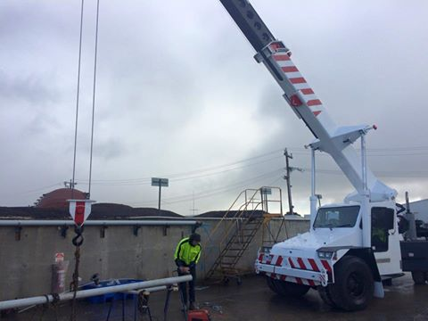 New 18 Tonne Franna Crane For Hire In Geelong Absolute